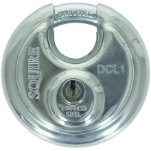Squire Stainless Steel Disc Padlock 70mm DCL1