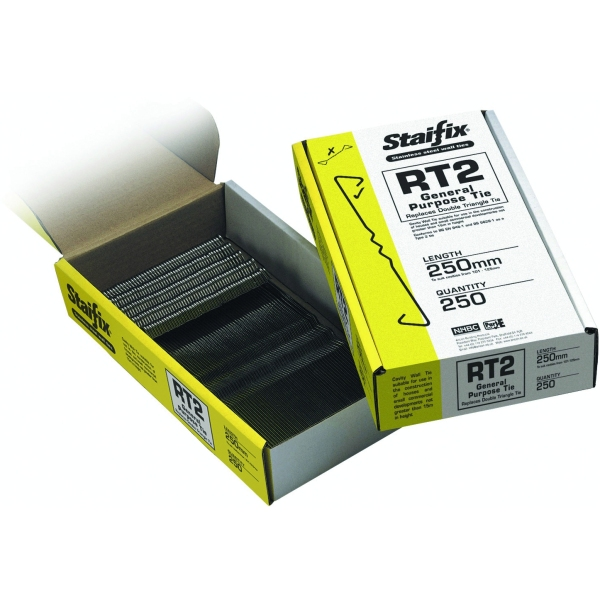 Staifix General Purpose Ties RT2 (Box 250) 250mm