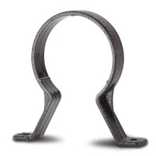 Standard Pipe Clip Black 68mm