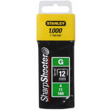 Stanley 12mm Heavy Duty Staples PK 1000