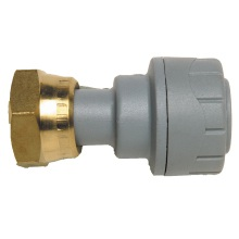 Straight Tap Connector 15mmx1/2inch