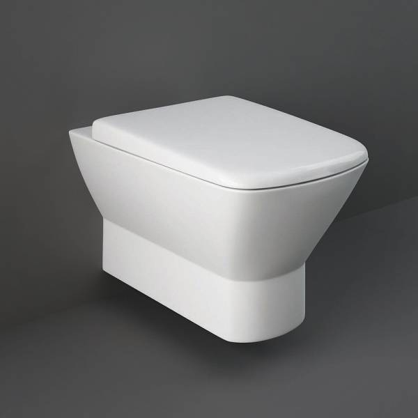 Summit Wall Hung Pan With Hidden Fix S-C Toilet Seat