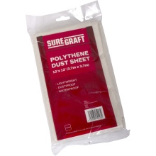 Suregraft 12' x 12' Polythene DustSheet