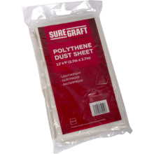 Suregraft 12' x 9' Polythene Dust Sheet