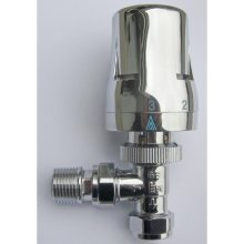 Suregraft 15mm Chrome Angled A Rated TRV 403-2070