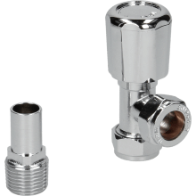 Suregraft 15mm Chrome Angled MRV Lock Shield & Wheel Head
