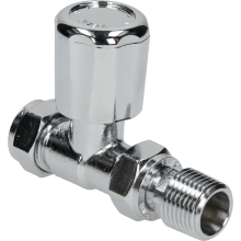 Suregraft 15mm Chrome Straight MRV Lock Shield
