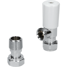 Suregraft 15mm White Angled MRV Lock Shield & Wheel Head