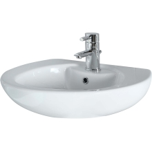 Suregraft Aroza 1 Tap Hole Basin White 61cm