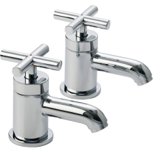 Suregraft Azora Chrome Plated Basin Taps