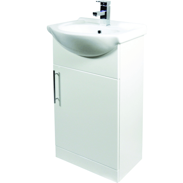 Suregraft Base Unit & Basin 450 x 300mm Gloss White