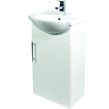 Suregraft Base Unit & Basin 550 x 300mm Gloss White