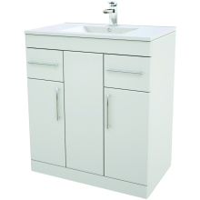 Suregraft Base Unit & Basin 750 x 450mm Gloss White