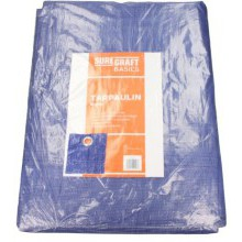 Suregraft Basic 80GSM Tarpaulin 18ft x 12ft 5.4m x 3.6m