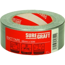 Suregraft Cloth Tape 48mm x 50m Silver