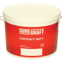 Suregraft Contract Matt Magnolia 10ltr
