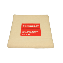 Suregraft Cotton Dust Sheet 12ft x 9ft