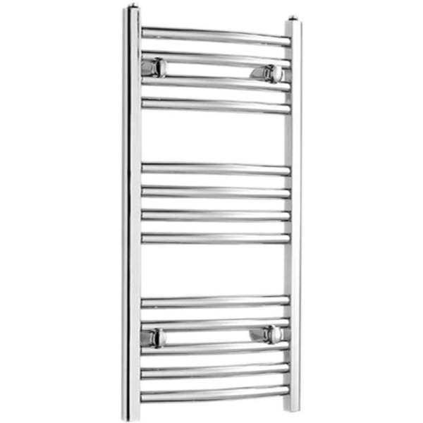 Curved Towel Rail 700mm x 450mm Chrome