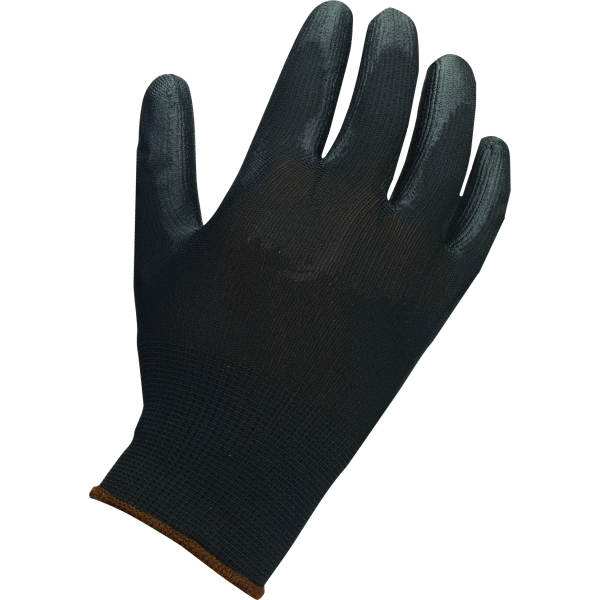 Suregraft Dry Handling Pu Black Gloves Size 9