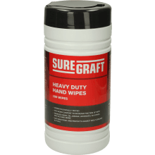 Suregraft Heavy Duty Multi-Purpose Handwipes Pack 100