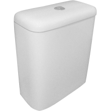 SureGraft Nelio Close Coupled Cistern White