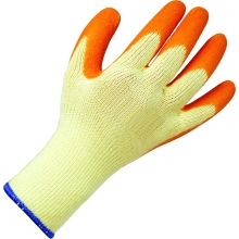 Suregraft Orange Grip Builders Gloves