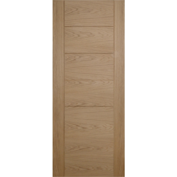 "Suregraft Palermo Oak Veneer Door 838 x 1981 x 35mm (2'9"" x 6'6"")"
