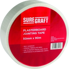 Suregraft Plasterers Scrim Tape 50mm x 90m