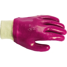 Suregraft Pvc Knitwrist Gloves