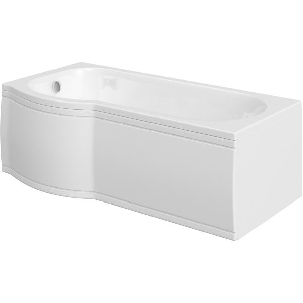 Suregraft Standard P-Bath 1675 x 850 x 750mm Left Hand