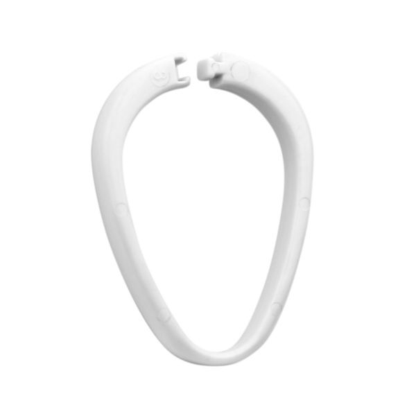 Suregraft White 12Pcs Curtain Ring