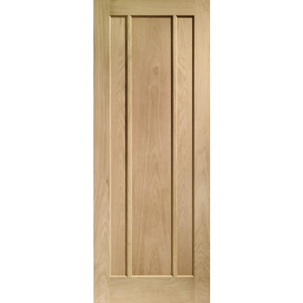 "Suregraft Worcester Oak Veneer Door 686 x 1981 x 35mm (2'3"" x 6'6"")"