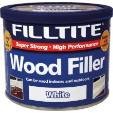 Tembe 500g Filltite Wood Filler White F18201