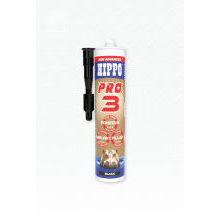 Tembe Hippo Pro 3 Adhesive Filler & Sealant Black 300ml