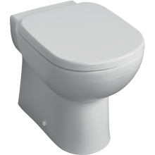 Tempo Back-to-Wall WC Pan with Horizontal Outlet
