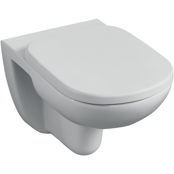 Tempo Wall Hung WC Pan with Horizontal Outlet