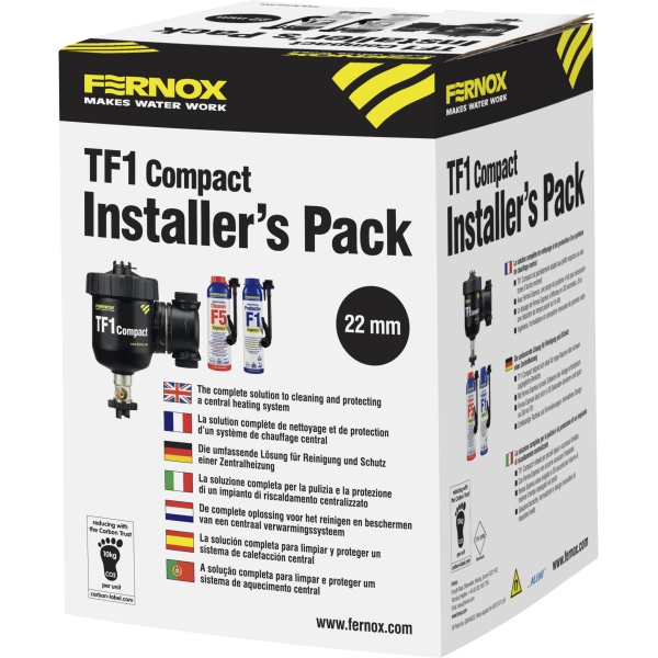 Fernox TF1 Compact Installer Pack 22mm