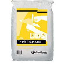 Thistle 25Kg Tough Coat Plaster 06082/3