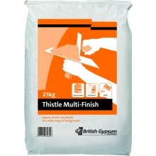 Thistle MultiFinish Plaster 25kg