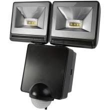 Timeguard LED200PIRB 2x8W LED Floodlight with PIR