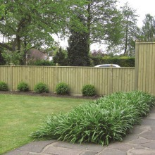 Trade Featheredge Fence Panel