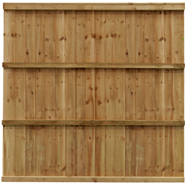 Trade Featheredge Fence Panel Green 0.93m