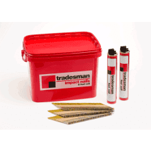 Tradesman Galvanised Nail/Fuel Handy Pack 3.1x90mm
