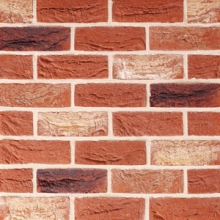 Traditional Brick & Stone 65mm Facing Farmhouse Antique Brick