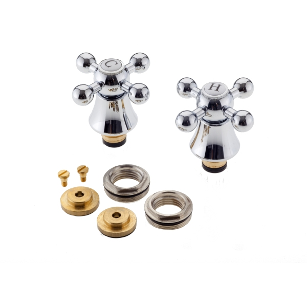 Traditional Cross Heads and Conversion Kit Three Quarter Inch