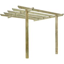 Traditional Patio Pergola 2798x270x270mm