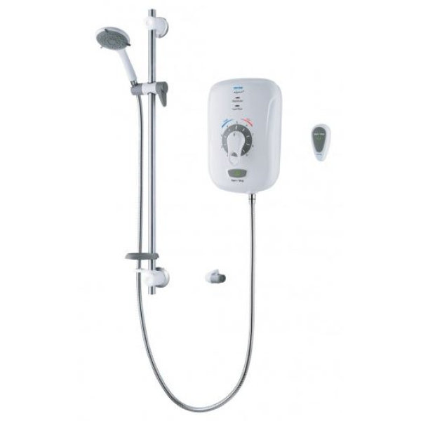 Triton Safeguard + 8.5kw Electric Shower 8.5kw Electric Shower with Grab & Remote