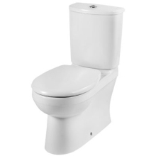 Twyford 450 x 350 x 680mm Galerie Close Coupled Back To Wall Pan Multi Outlet White