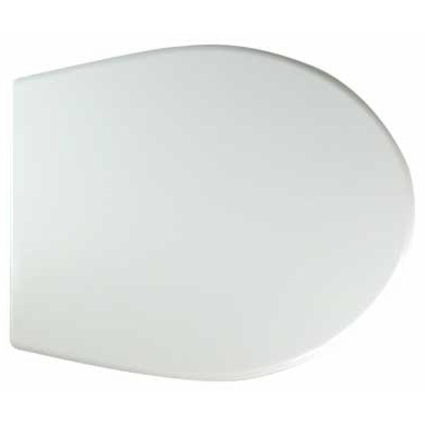 Twyford Alcona Seat & Cover Plastic Hinges White