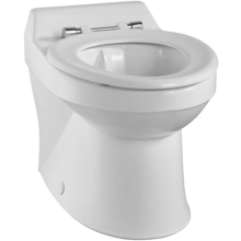 Twyford Sola School WC Pan Rimless 350mm Horizontal Outlet White